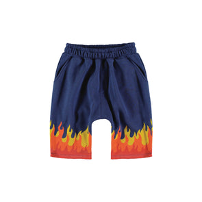 Flames Pants (Navy)