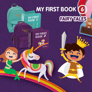 My First Book ( 6 ) - Fairy Tales (0-3Years) (Mint / Purple)