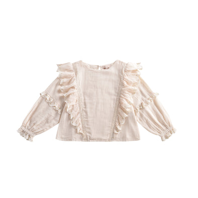 Louise Misha Blouse Tubi Cream - TA-DA!