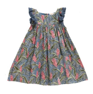 Louise Misha Costa Lagoon Leaves Dress - TA-DA!