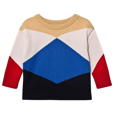 Tiny Cottons Geometric Sweater - TA-DA!