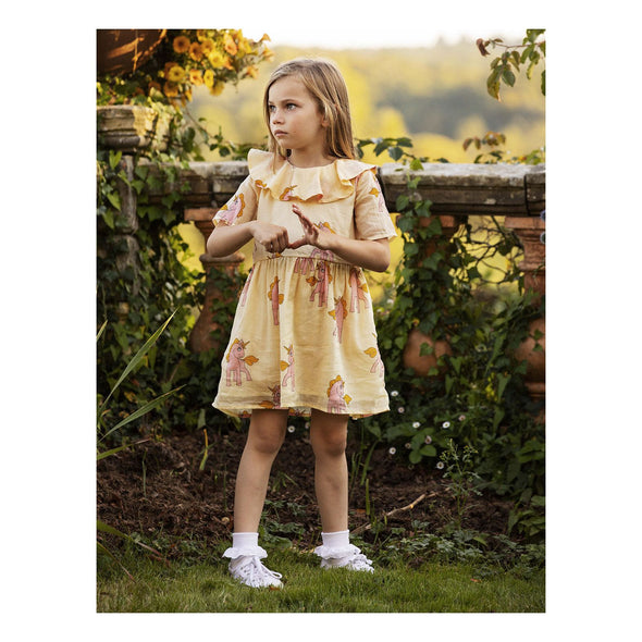 SS20 Unicorns Dress (Yellow)