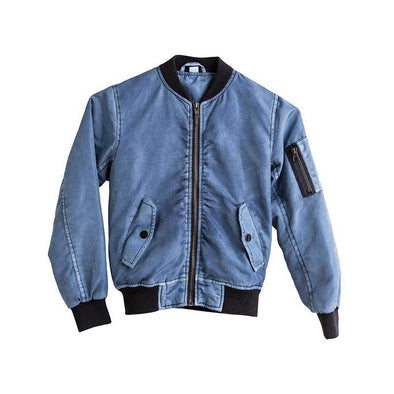 I Dig Denim Norton Jacket (Mid Blue) - TA-DA!