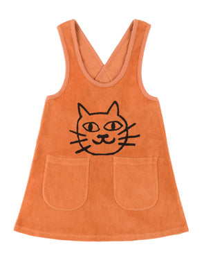 nadadelazos Cat Dress (Orange) - TA-DA!