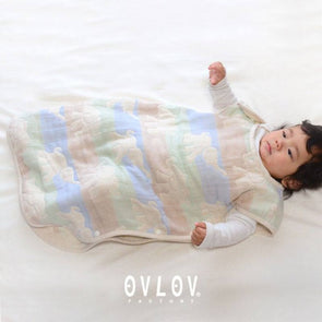 Ovlov Elephant Sleeping Bag (Blue / Pink) - TA-DA!