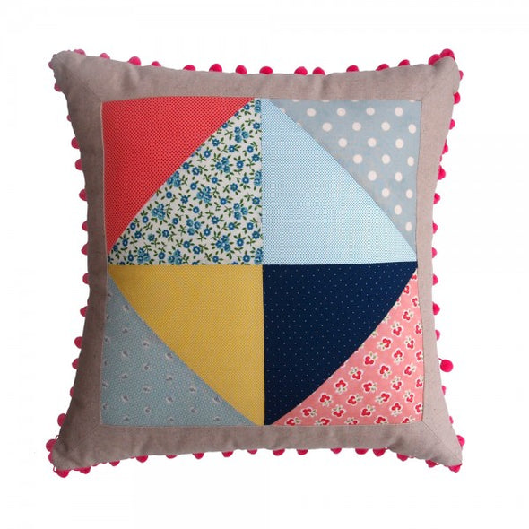 Jolie Petite Chose Cushion Cover (Multi Colour) - TA-DA!