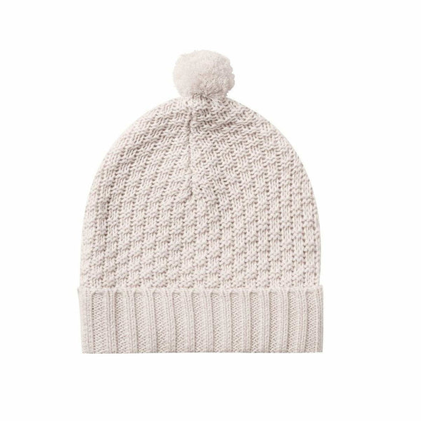 Knit Pom Pom Beanie (Multi Colours)