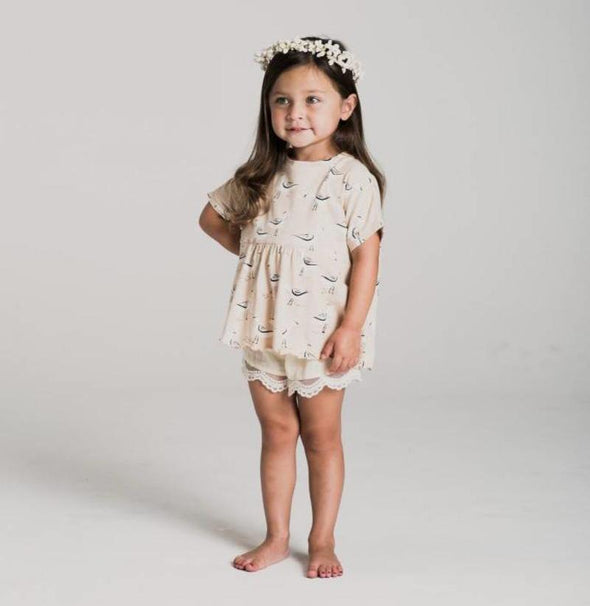 Rylee + Cru Scallop Short (Family Matching Outfits) - TA-DA!