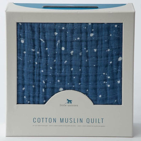 Little Unicorn Cotton Muslin Quilt (Star Sailing) - TA-DA!