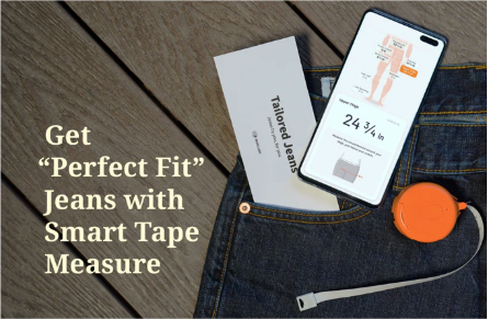 World's First Perfect-Fit Jeans with Smart Tape Measure