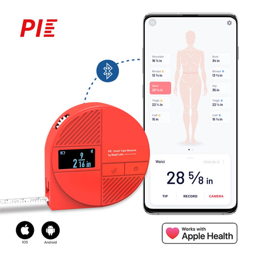 PIE-Smart Tape Measure for Your Body