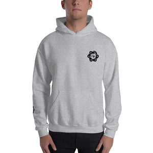 Sweat à Capuche gris homme Cliffe