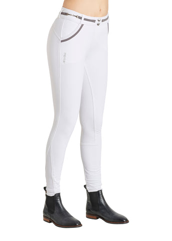 Harper  Breeches Fullgrip - White