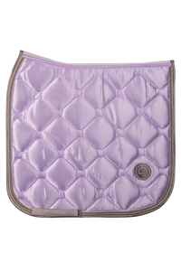Lilac dressage dlux saddle pad