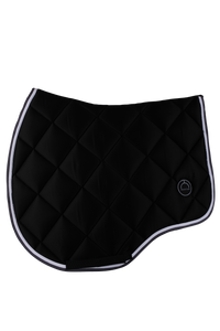 Black jump lago saddle pad