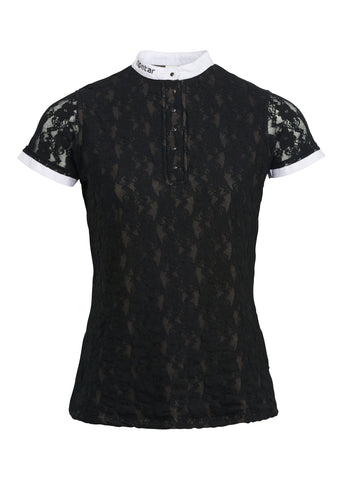 Amelia Competition Shirt - Black