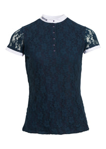 Amelia Competition Shirt - Navy