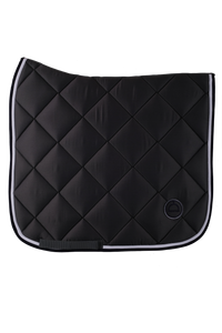 Grey dressage lago saddle pad