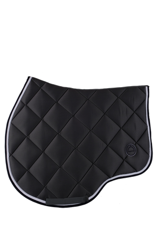 Grey jump lago saddle pad