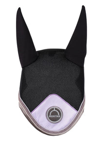 Black/lilac fly hood dlux collection