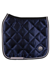 Navy dressage dlux saddle pad - NEW FALL COLOR