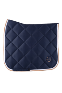 Navy dressage lago saddlepad