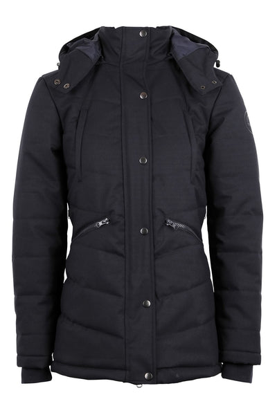 Dicte short jacket - navy, Sustans filling with DuPont Sorona® and micro-fleece lining