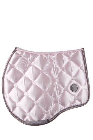 Pink jump dlux saddle pad