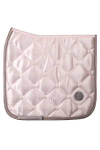 Pink dressage dlux saddle pad