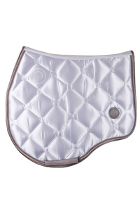 White jump dlux saddle pad