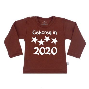 T-Shirt geboren in 2020 girl