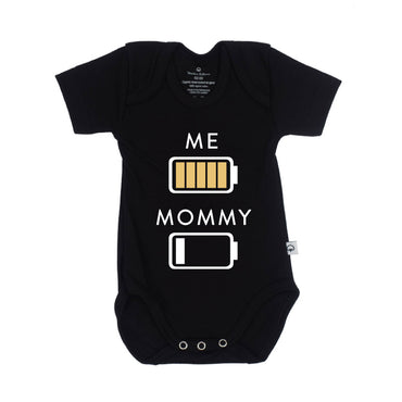 Romper full battery Mommy