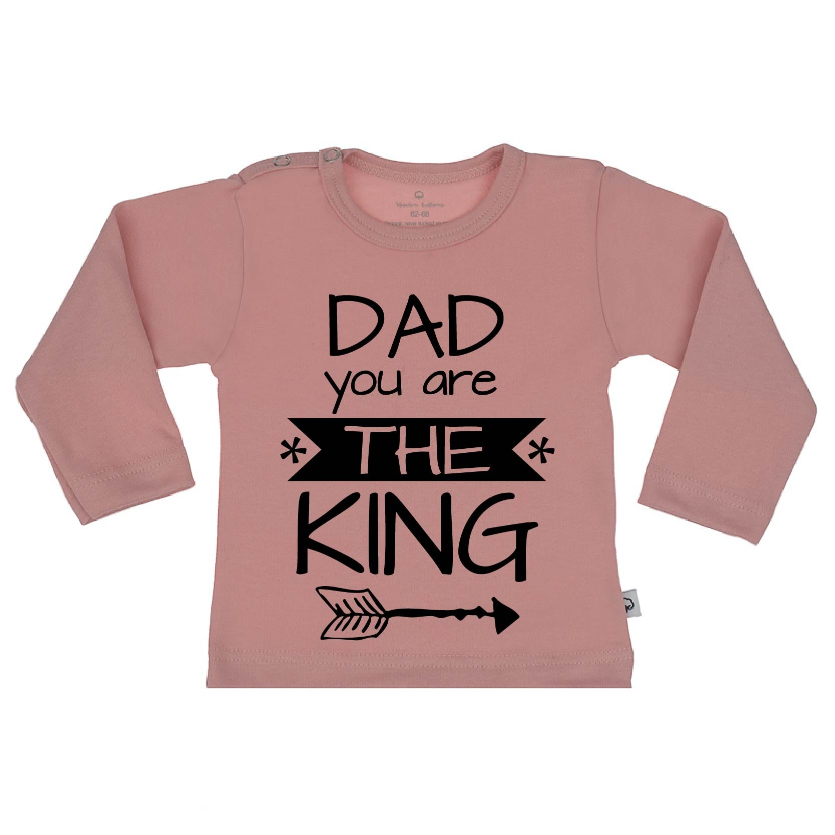 T-Shirt dad you are the king