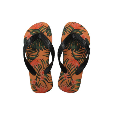 Slippers Peach jungle opdruk