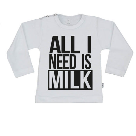 T-Shirt all i need is milk