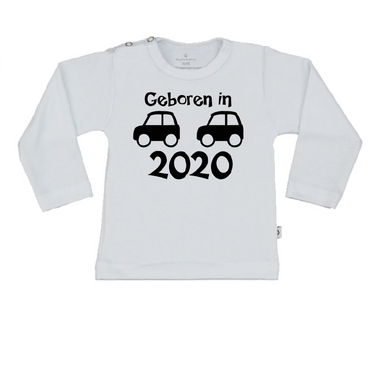 T-Shirt geboren in 2020 boy