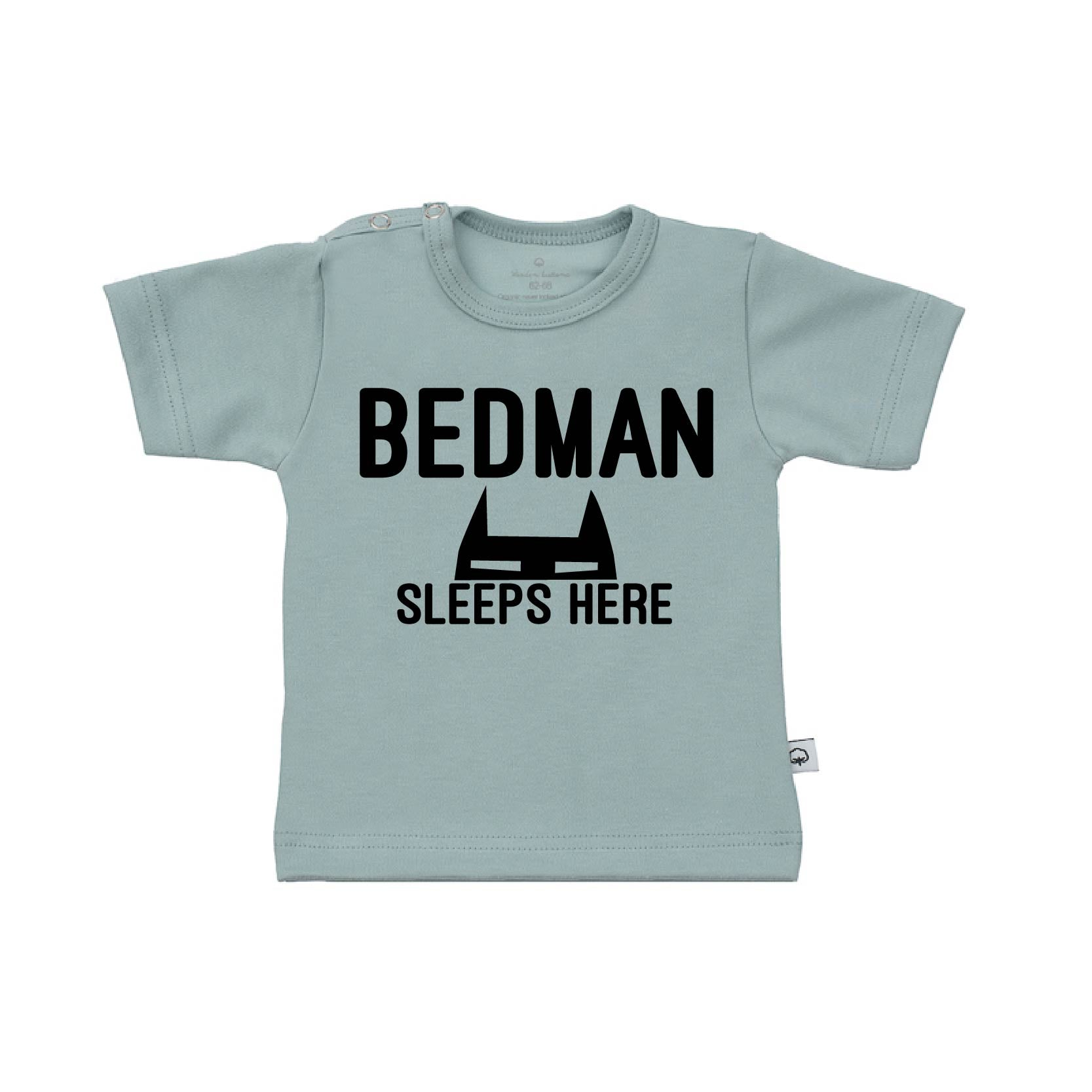 T-Shirt bedman sleeps here