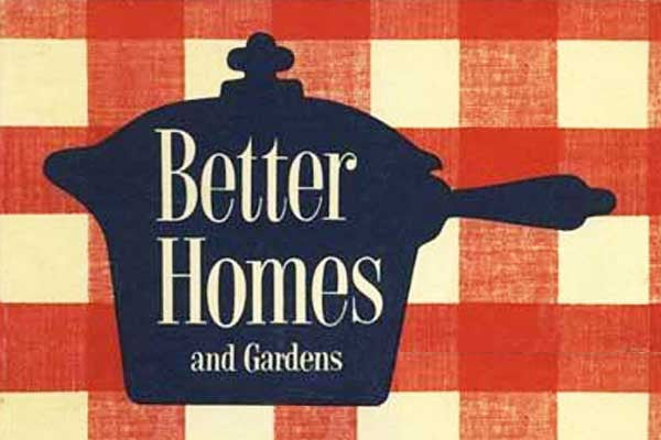 Better Homes and Gardens Cookbook Feature