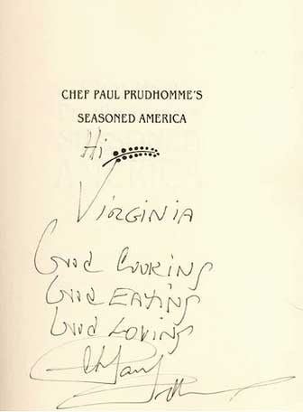Chef Paul Prudhomme Signature