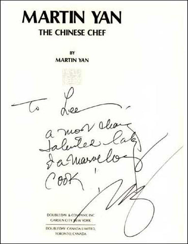 Martin Yan Chinese Chef Signature