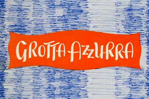 Grotta Azzurra restaurant cookbook