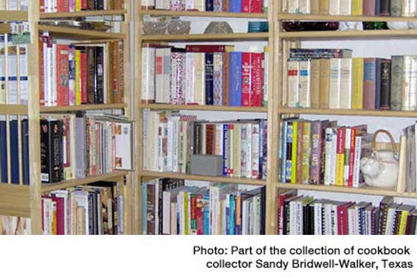 Spotlight on Cookbook Collectors: Interview Sandy Bridwell-Walker