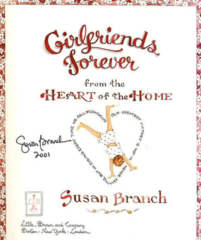 Susan Branch Author Signature & Bio