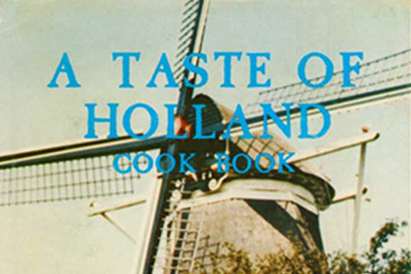Taste of Holland Cookbook Review - Collectibility