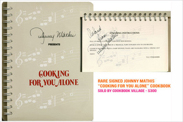Johnny Mathis Cookbook