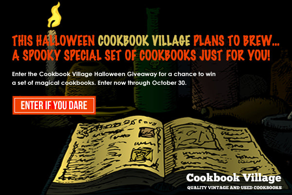 Cookbook Village collectible cookbooks givewaway