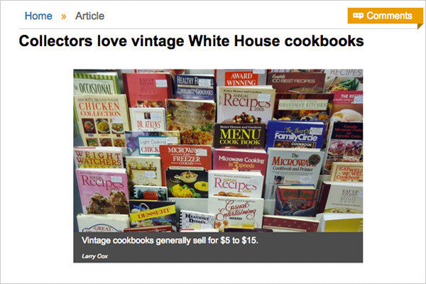 Arizona Republic Article with Cookbook Village