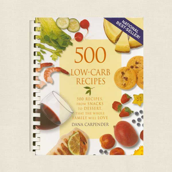 500 Low-Carb Recipes Cookbook