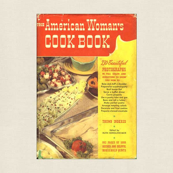American Woman's Cookbook - Vintage 1962