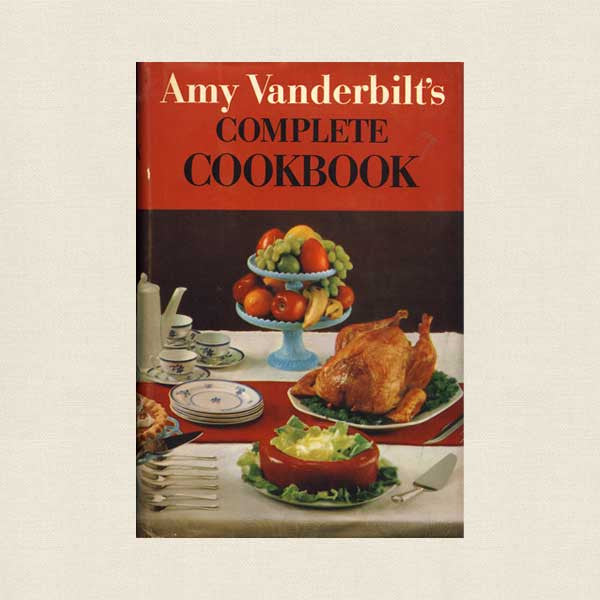 Amy Vanderbilt's Cookbook 1961 Andy Warhol Drawings